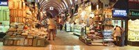 """Bazaar, Istanbul, Turkey by Panoramic Images - 36"""" x 12"""""""