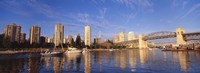 """Vancouver, British Columbia, Canada by Panoramic Images - 36"""" x 12"""""""