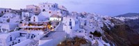White washed buildings, Santorini, Greece Fine Art Print