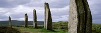 """Ring Of Brodgar with view of the hills, Orkney Islands, Scotland, United Kingdom by Panoramic Images - 36"""" x 12"""""""