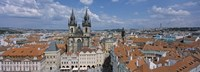 "Church of our Lady before Tyn, Old Town Square, Prague, Czech Republic by Panoramic Images - 36"" x 12"""