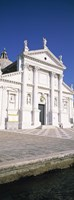 """View of a building, San Giorgio, Venice, Italy by Panoramic Images - 12"""" x 36"""", FulcrumGallery.com brand"""