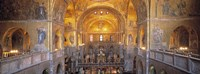"""San Marcos Cathedral, Venice, Italy (wide angle) by Panoramic Images - 36"""" x 12"""""""