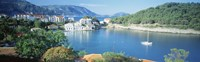 """High Angle View Of A Town On The Waterfront, Cephalonia, Greece by Panoramic Images - 36"""" x 12"""""""