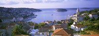 Town On The Waterfront, Hvar Island, Hvar, Croatia Fine Art Print