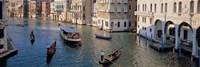 Gondolas on the Water, Venice, Italy Fine Art Print