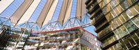 """Low angle view of a building, Sony Center, Berlin, Germany by Panoramic Images - 36"""" x 12"""""""