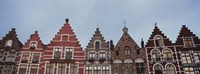 """Low angle view of buildings, Bruges, Belgium by Panoramic Images - 36"""" x 12"""""""