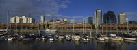 """Buildings On The Waterfront, Puerto Madero, Buenos Aires, Argentina by Panoramic Images - 36"""" x 12"""""""