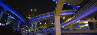 """Low Angle View Of Overpasses, Shanghai, China by Panoramic Images - 36"""" x 12"""", FulcrumGallery.com brand"""
