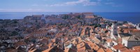 """High angle view of a city, Dubrovnik, Croatia by Panoramic Images - 36"""" x 12"""", FulcrumGallery.com brand"""