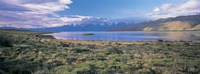 """Clouds over a river, Mt Fitzroy, Patagonia, Argentina by Panoramic Images - 36"""" x 12"""""""