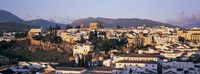 """High angle view of a town, Ronda, Andalucia, Spain by Panoramic Images - 36"""" x 12"""""""