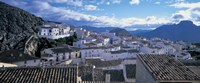 "High angle view of buildings in a town, Velez Blanco, Andalucia, Spain by Panoramic Images - 36"" x 12"""