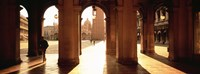"""Tourists in a building, Venice, Italy by Panoramic Images - 36"""" x 12"""""""
