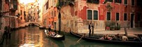 Tourists in a gondola, Venice, Italy by Panoramic Images - various sizes