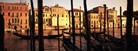 """Gondolas in Venice, Italy by Panoramic Images - 36"""" x 12"""""""