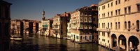 Buildings on the waterfront, Venice, Italy Fine Art Print