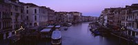 """Buildings Along A Canal, Venice, Italy by Panoramic Images - 36"""" x 12"""""""