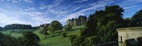 Castle On A Landscape, Alnwick Castle, Northumberland, England, United Kingdom by Panoramic Images - various sizes