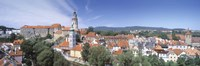 "Buildings in a city, Cesky Krumlov, South Bohemia, Czech Republic by Panoramic Images - 36"" x 12"""