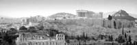 High Angle View Of Buildings In A City, Parthenon, Acropolis, Athens, Greece Fine Art Print