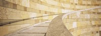 "Low Angle View Of A Staircase, Staatsgalerie, Stuttgart, Germany by Panoramic Images - 36"" x 12"""