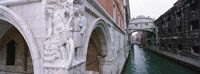 """Bridge across a canal, Bridge of Sighs, Venice, Italy by Panoramic Images - 36"""" x 12"""""""