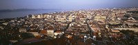 """Aerial view of Lisbon, Portugal by Panoramic Images - 36"""" x 12"""""""