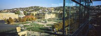 """High Angle View Of A City, Schlossplatz, Stuttgart, Baden-Wurttemberg, Germany by Panoramic Images - 36"""" x 12"""" - $34.99"""