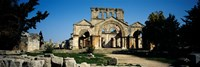 Old ruins of a church, St. Simeon The Stylite Abbey, Aleppo, Syria Fine Art Print