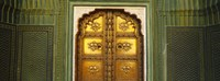 Close-up of a closed door of a palace, Jaipur City Palace, Jaipur, Rajasthan, India by Panoramic Images - various sizes
