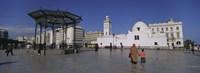 "Jamaa-El-Jedid, Algiers, Algeria by Panoramic Images - 36"" x 12"""