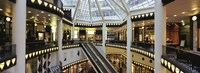 """Interiors of a pei pasage, Friedrichstadt-Passagen Quartier 206, Berlin, Germany by Panoramic Images - 36"""" x 12"""""""