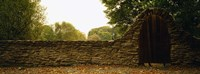 """Close-up of a stone wall, County Kilkenny, Republic Of Ireland by Panoramic Images - 36"""" x 12"""""""