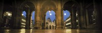 "Arcade of a building, St. Mark's Square, Venice, Italy (Color) by Panoramic Images - 36"" x 12"""