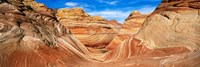 """Canyon on a landscape, Vermillion Cliffs, Arizona, USA by Panoramic Images - 36"""" x 12"""" - $34.99"""