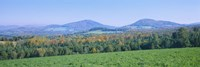 "Mountains in Northeast Kingdom, Vermont by Panoramic Images - 36"" x 12"""
