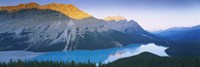 """Mountains by Peyto Lake, Canada by Panoramic Images - 36"""" x 12"""""""