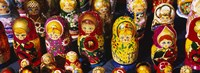 Close-up of Russian nesting dolls, Bulgaria Fine Art Print