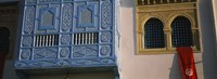 """Low angle view of a window of a building, Medina, Kairwan, Tunisia by Panoramic Images - 36"""" x 12"""", FulcrumGallery.com brand"""