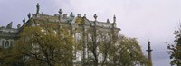 "Tree in front of a palace, Winter Palace, State Hermitage Museum, St. Petersburg, Russia by Panoramic Images - 36"" x 12"" - $34.99"