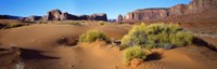 """Wide angle view of Monument Valley Tribal Park, Utah, USA by Panoramic Images - 36"""" x 12"""" - $34.99"""