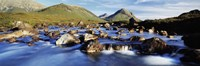"Late afternoon in September, River Sligachan, Glen Sligachan, Isle Of Skye, Scotland by Panoramic Images - 36"" x 12"""