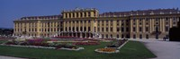 """Formal garden in front of a palace, Schonbrunn Palace Garden, Schonbrunn Palace, Vienna, Austria by Panoramic Images - 36"""" x 12"""""""