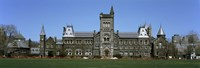 """Facade of a building, University of Toronto, Toronto, Ontario, Canada by Panoramic Images - 36"""" x 12"""""""