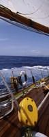 Sailboat on the Sea