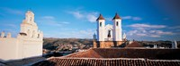 """High angle view of a city, San Felipe Neri convent, Church Of La Merced, Sucre, Bolivia by Panoramic Images - 36"""" x 12"""" - $34.99"""