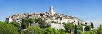 Low angle view of a walled city, Saint Paul De Vence, Provence-Alpes-Cote d'Azur, France Fine Art Print