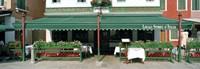 "Facade of a restaurant, Burano, Venice, Veneto, Italy by Panoramic Images - 36"" x 12"""